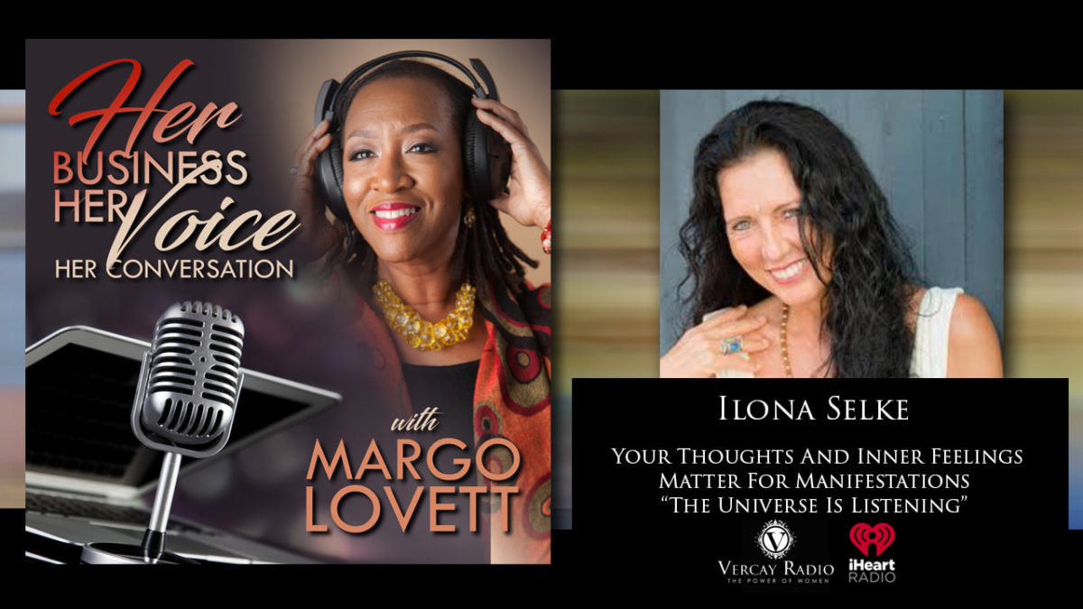 MARGOT LOVETT on her Show HER BUSINESS HER VOICE in interivew with ILONA SELKE
