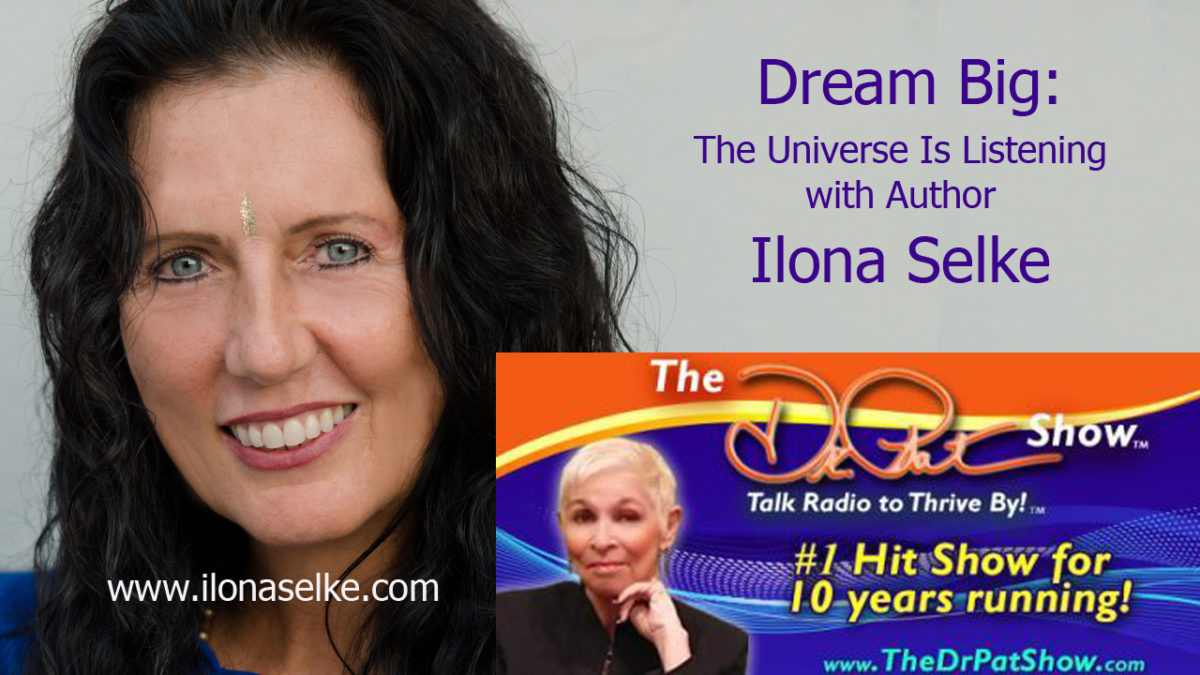 The Dr. Pat Show: with Author Ilona Selke